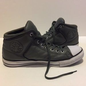 Converse All Star Leather Unisex Size 12 Green